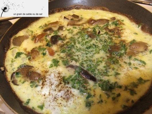omelette-forestiere