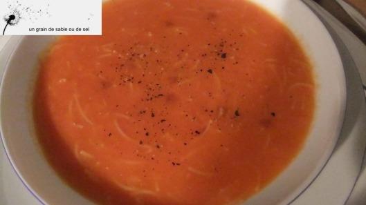 potage tomates