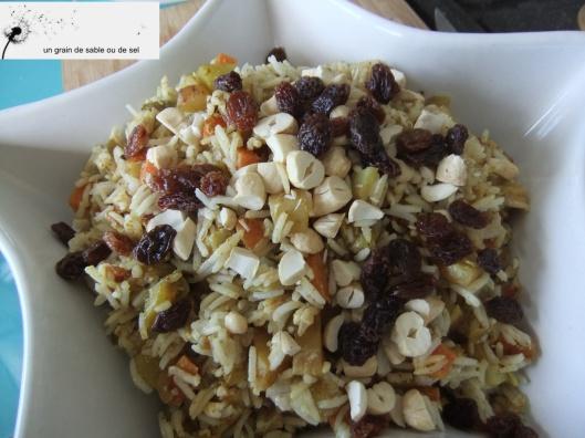 riz indien aux légumes