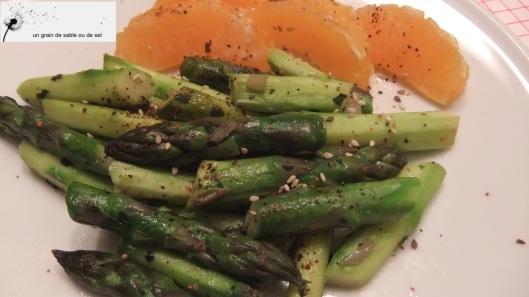 wok asperge