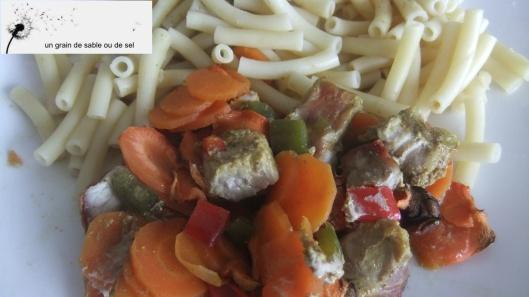 curry porc