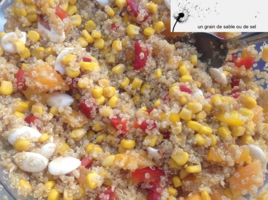 quinoa aux amandes