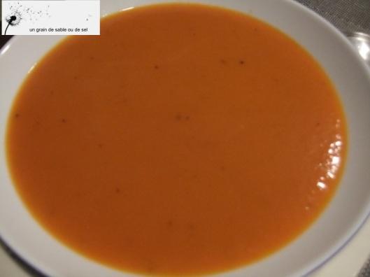 potage à la tomate antigaspi
