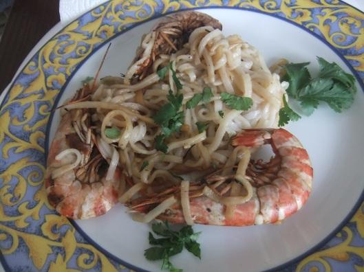 gambas -Aude cuisine