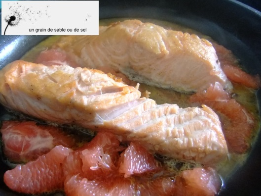 saumon sauce agrume